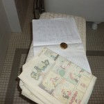 A Christmas Story House - Bathroom decoding work