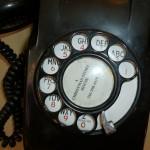 A Christmas Story House - hallway phone close up