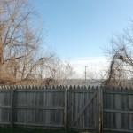 A Christmas Story House - the fence