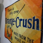 A Christmas Story House Museum -Orange Crush sign