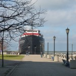 Lake Erie - Ore Ship