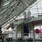 Rock and Roll Hall of Fame lobby