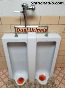 Dual Urinals