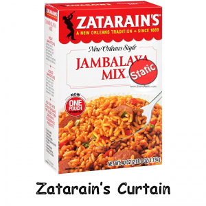 Zatarains Curtain